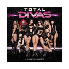 WWE Total Divas 2016 Wall Calendar