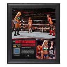 Divas Triple Threat Match Battleground 15  x 17 Framed Ring Canvas Photo Collage