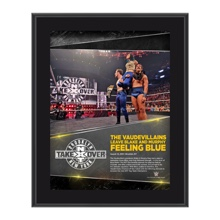 The VaudeVillains NXT TakeOver: Brooklyn 10.5 x 13 Photo Collage Plaque