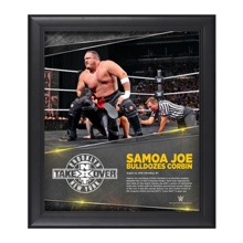 Samoa Joe NXT TakeOver: Brooklyn 15 x 17 Photo Collage Plaque