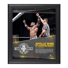 Apollo Crews NXT TakeOver: Brooklyn 15 x 17 Photo Collage Plaque