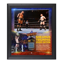 Sheamus SummerSlam 2015 15 x 17 Photo Collage Plaque