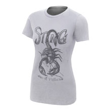 "Sting ""Rise of Vigilance"" Women's Authentic T-Shirt"