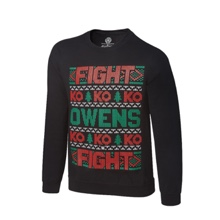 Kevin Owens Ugly Holiday Sweatshirt