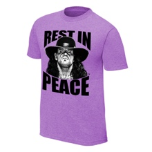 """The Undertaker """"Rest in Peace"""" T-Shirt"""
