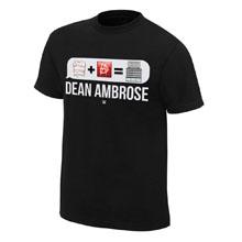 "Dean Ambrose ""Emoticon"" T-Shirt"