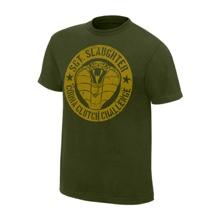 """Sgt. Slaughter """"Cobra Clutch Challenge"""" Legends T-Shirt"""