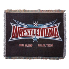 WrestleMania 32 Tapestry Blanket