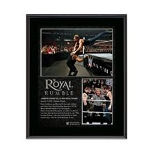 WWE Royal Rumble 2016 Dean Ambrose 10.5 x 13 Photo Collage Plaque