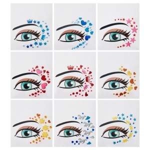 Charlotte Eye Flair Decals (9 Pack)