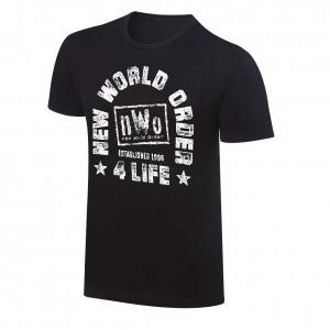 """NWO """"NWO 4 Life"""" Vintage T-Shirt"""
