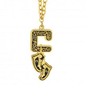 Carmella Gold Pendant