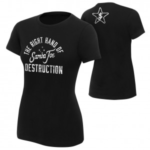 "Samoa Joe ""The Right Hand of Destruction"" Women's Authentic T-Shirt"