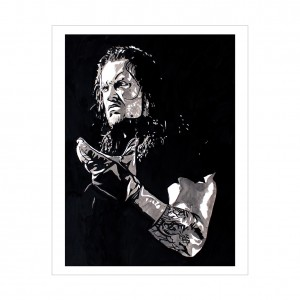 Undertaker Rob Schamberger 11 x 14 Art Print