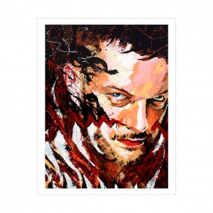 Finn Bálor Rob Schamberger 11 x 14 Art Print