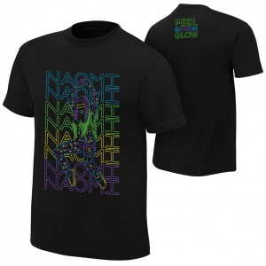 """Naomi """"Bring It To The Floor"""" Authentic T-Shirt"""