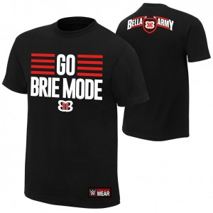 "Brie Bella ""Go Brie Mode"" Authentic T-Shirt"