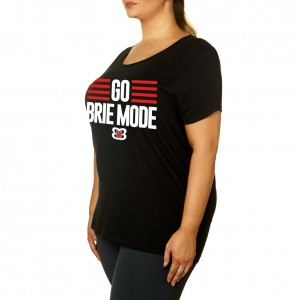 "Brie Bella ""Go Brie Mode"" Women's Curvy T-Shirt"
