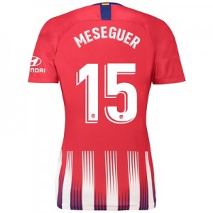 Atlético de Madrid Home Stadium Shirt 2018-19 - Womens with Meseguer 15 printing
