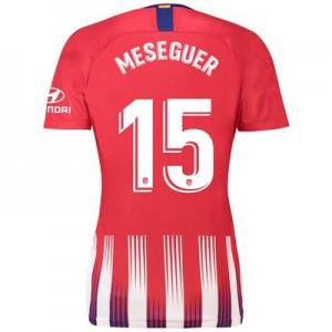 Atlético de Madrid Home Stadium Shirt 2018-19 - Womens with Meseguer 15 printing
