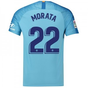 Atlético de Madrid Away Stadium Shirt 2018-19 with Morata 22 printing