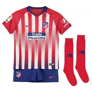 Atlético de Madrid Home Stadium Kit 2018-19 - Little Kids