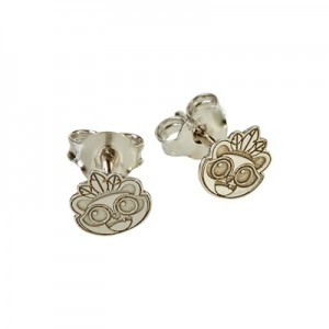 Atlético de Madrid Baby Indi Earrings - 925 Sterling Silver