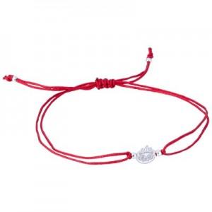 Atlético de Madrid Baby Indi Bracelet - Red - 925 Sterling Silver