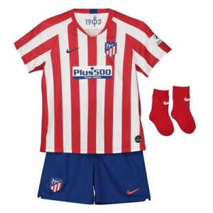 Atlético de Madrid Home Stadium Kit 2019-20 - Infants