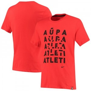 Atlético de Madrid Evergreen Tagline T-Shirt - Red