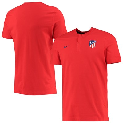 Atlético de Madrid Authentic Grand Slam Polo - Red