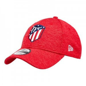 Atlético de Madrid New Era Shadow Tech 9FORTY Adjustable Cap - Scarlet