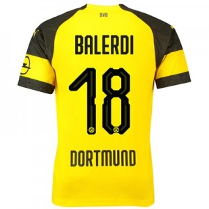 BVB Home Shirt 2018-19 - Outsize with Balerdi 18 printing