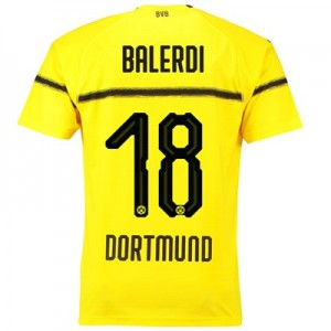 BVB Cup Home Shirt 2018-19 with Balerdi 18 printing