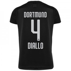 BVB Away Shirt 2019-20 with Diallo 4 printing