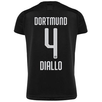 BVB Away Shirt 2019-20 with Diallo 4 printing
