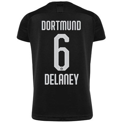 BVB Away Shirt 2019-20 with Delaney 6 printing