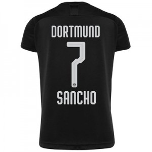 BVB Away Shirt 2019-20 with Sancho 7 printing
