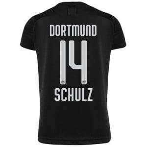 BVB Away Shirt 2019-20 with Schulz 14 printing