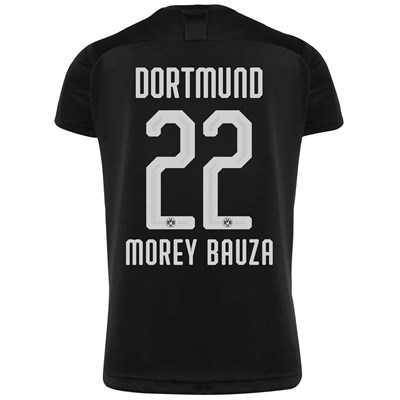 BVB Away Shirt 2019-20 with Morey Bauza 22 printing