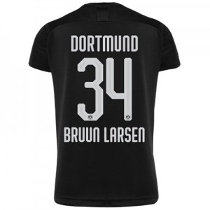 BVB Away Shirt 2019-20 with Bruun Larsen 34 printing