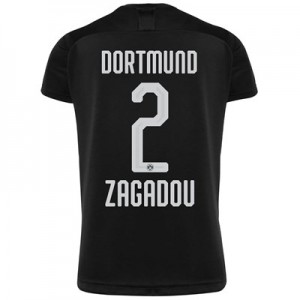 BVB Away Shirt 2019-20 - Kids with Zagadou 2 printing