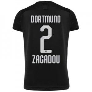 BVB Away Shirt 2019-20 - Kids with Zagadou 2 printing