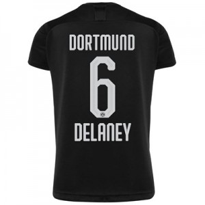 BVB Away Shirt 2019-20 - Kids with Delaney 6 printing