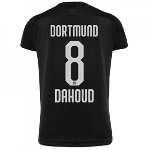 BVB Away Shirt 2019-20 - Kids with Dahoud 8 printing