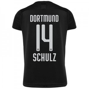 BVB Away Shirt 2019-20 - Kids with Schulz 14 printing