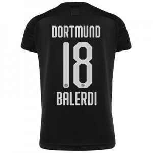 BVB Away Shirt 2019-20 - Kids with Balerdi 18 printing