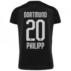 BVB Away Shirt 2019-20 - Kids with Philipp 20 printing