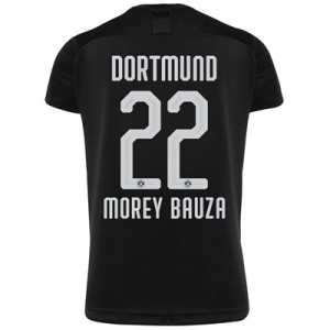 BVB Away Shirt 2019-20 - Kids with Morey Bauza 22 printing