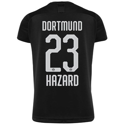 BVB Away Shirt 2019-20 - Kids with Hazard 23 printing